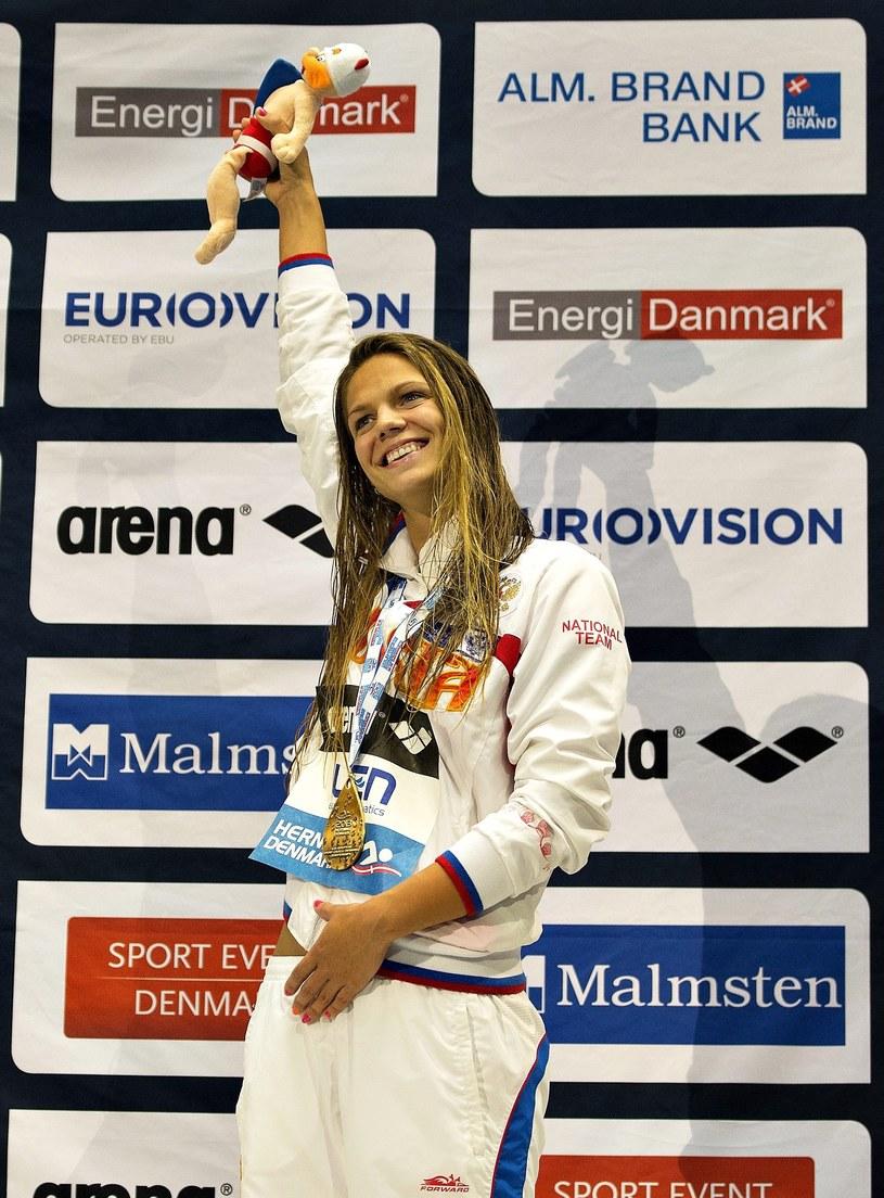Rosyjska pływaczka Julia Jefimowa /PAP/EPA