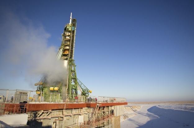 Rosyjska rakieta Soyuz startuje z kosmodromu Bajkonur /AFP