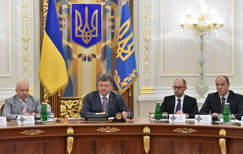 "Rosyjska telewizja twierdzi, iż proeuropejska Ukraina jest ""idealnym laboratorium sekt"". /AFP"