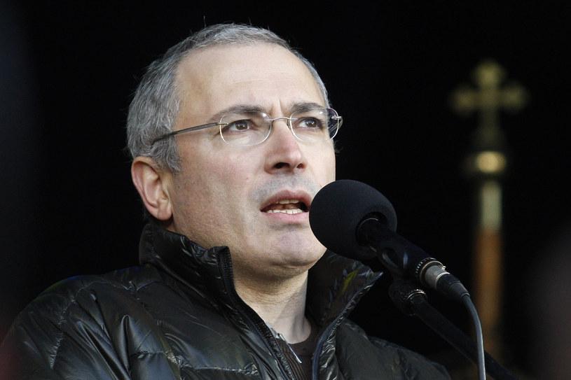Rosyjski biznesmen Michaił Chodorkowski. /AFP