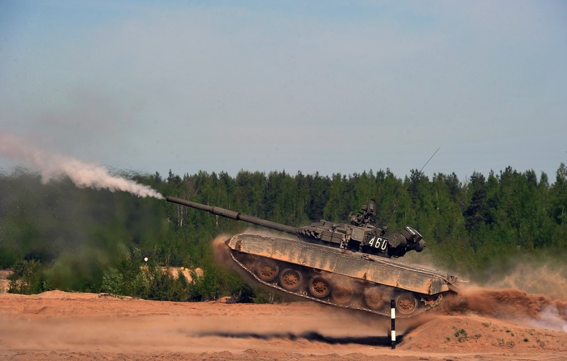 Rosyjski czołg T-80 /AFP