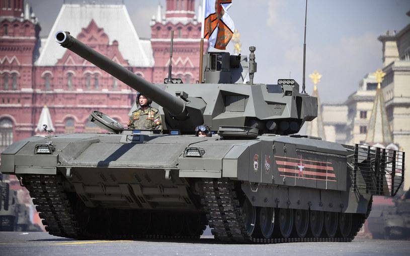 Rosyjski czołg, zdjęcie ilustracyjne /ALEXANDER NEMENOV / AFP /AFP