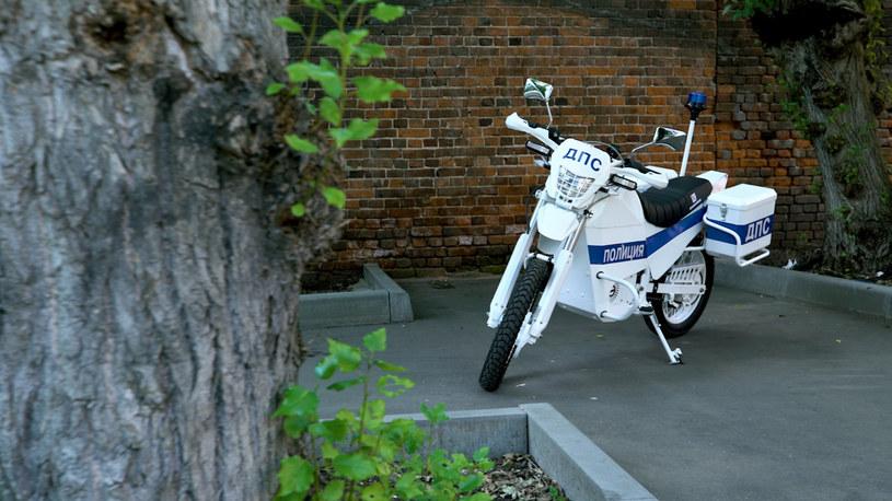 Rosyjski elektryczny motocykl /