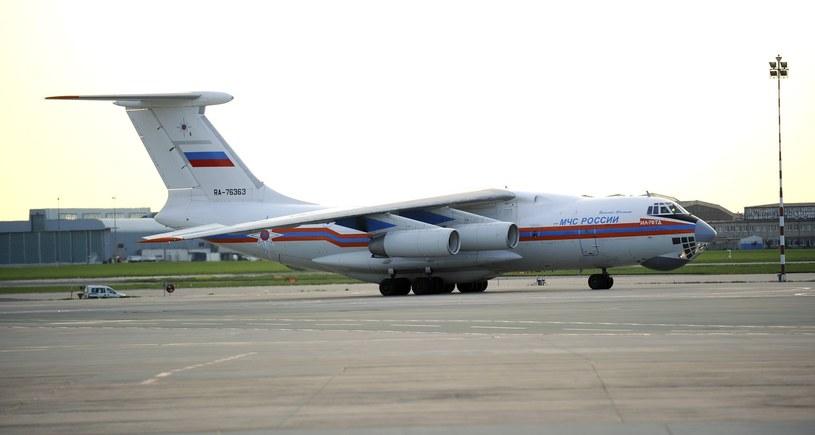 Rosyjski Ił-76 (zdj. ilustracyjne) /Bartosz Krupa /East News