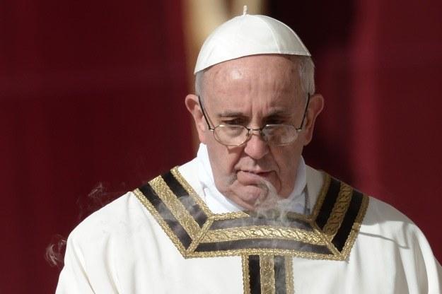 """Rosyjski kler może uznawać Franciszka za """"spisek jezuitów"""" /AFP"""