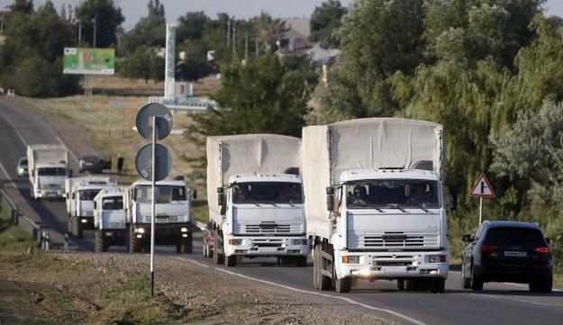 Rosyjski konwój ruszył w stronę granicy