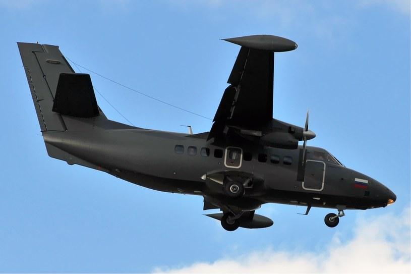Rosyjski Let L-410UVP-E w locie. Wersję patrolową tego samolotu otrzymała polska Straż Graniczna /Dmitry Petrov /domena publiczna