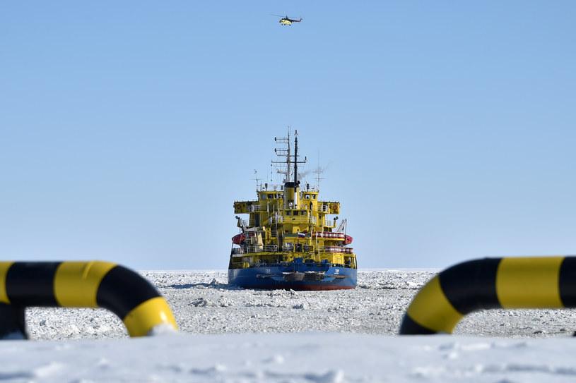 Rosyjski lodołamacz Tor, zdjęcie archiwalne /Kirill Kudryavtsev/ AFP /INTERIA.PL