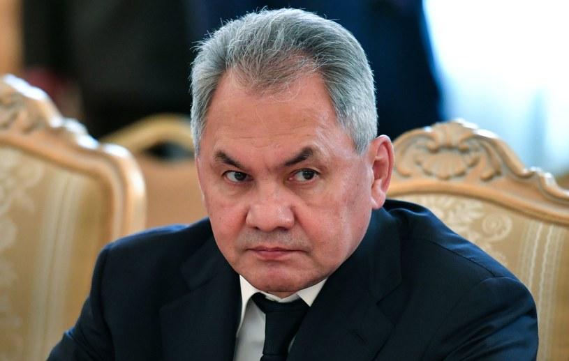 Rosyjski minister obrony Siergiej Szojgu /Yuri Kadobnov /AFP