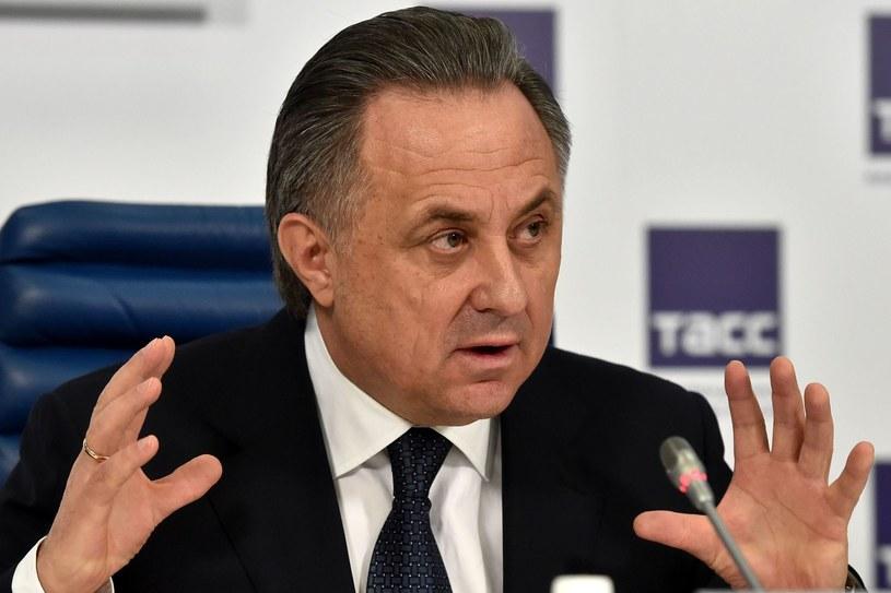 Rosyjski minister sportu Witalij Mutko /AFP