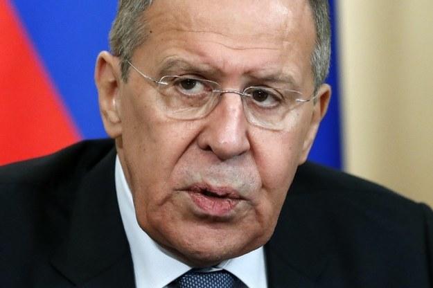 Rosyjski minister spraw zagranicznych Siergiej Ławrow. /SERGEI CHIRIKOV /PAP/EPA
