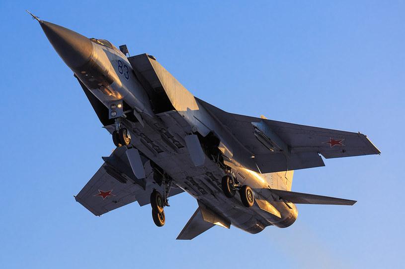 Rosyjski myśliwiec MiG -31 poderwano do eskorty samolotu norweskich sił zbrojnych lecącego nad Morzem Barentsa - /Wikimedia.org/Fedor Leukhin /Wikimedia
