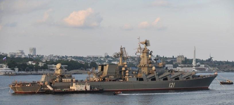 Rosyjski okręt wojenny w Sewastopolu, zdjęcie z 2011 roku /AFP