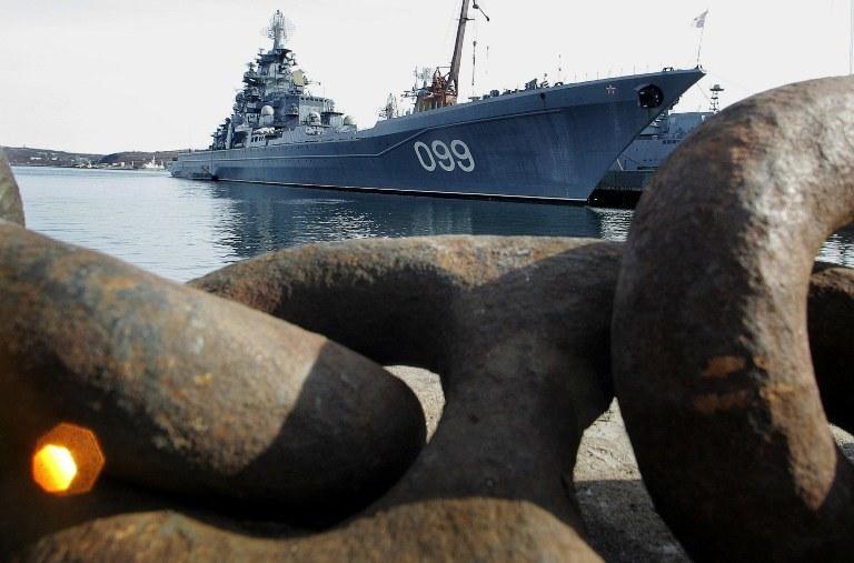 Rosyjski okręt, zdj. ilustracyjne /AFP