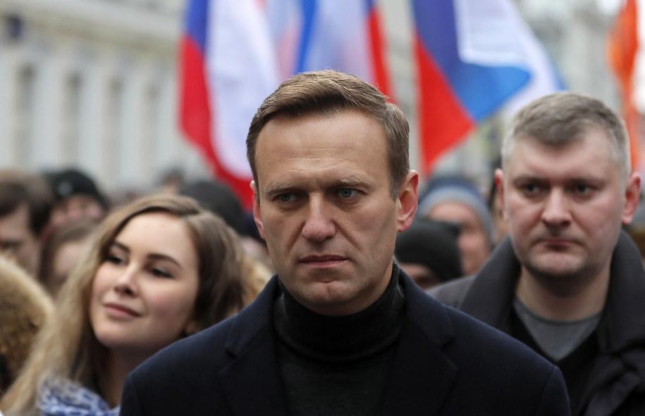 Rosyjski opozycjonista  Alexei Navalny /YURI KOCHETKOV /PAP/EPA