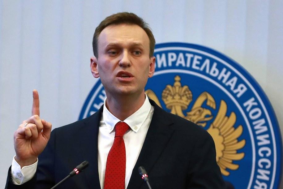 Rosyjski opozycjonista Alexei Navalny /Sergei Fadeichev /PAP/ITAR-TASS