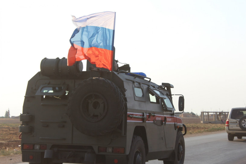 Rosyjski pojazd wojskowy w Syrii, zdjęcie ilustracyjne. /Stringer/Xinhua News/East News /East News