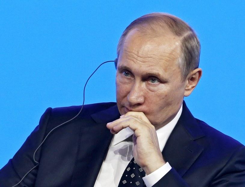 Rosyjski prezydent (na zdj.) zaoferował, że może być gospodarzem rozmów między Palestyna a Izraelem /PAP