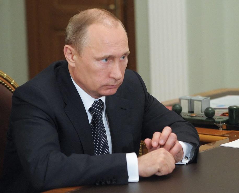 Rosyjski prezydent Władimir Putin /ALEKSEY BABUSHKIN /PAP/EPA