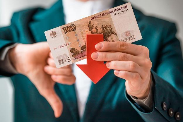 Rosyjski rubel odnotował dziś gwałtowny spadek wartości /©123RF/PICSEL