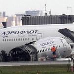 Rosyjski samolot SSJ 100 zawrócony do Moskwy tuż po starcie