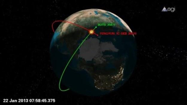 Rosyjski satelita BLITS uszkodzony /materiały prasowe