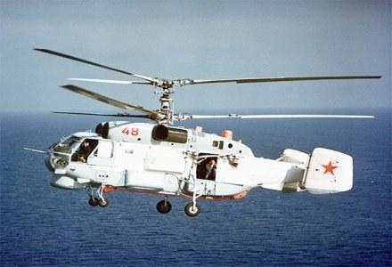 Rosyjski Śmigłowiec Ka-27 /AFP