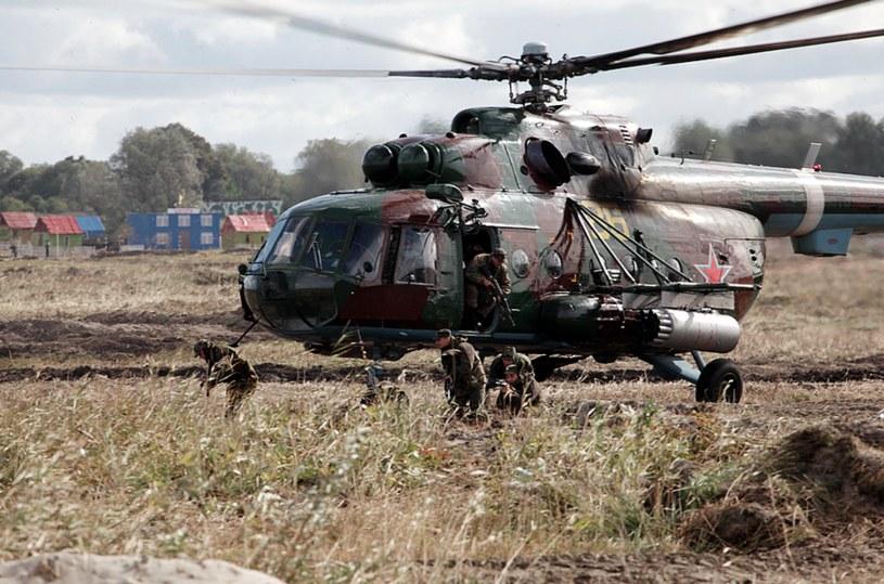 Rosyjski śmigłowiec wojskowy /mil.ru /