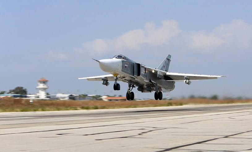 Rosyjski Su-24; zdj. ilustracyjne /ALEXANDER KOTS / KOMSOMOLSKAYA PRAVDA / AFP /AFP