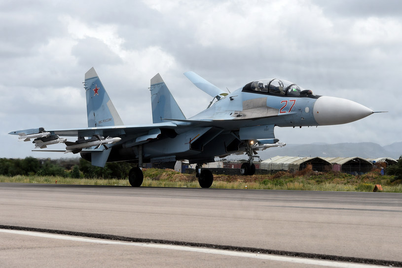 Rosyjski Su-35 /AFP