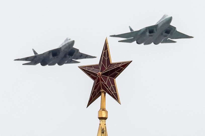 Rosyjski Su-57. Grigory Dukor/TASS/Getty Images /Getty Images