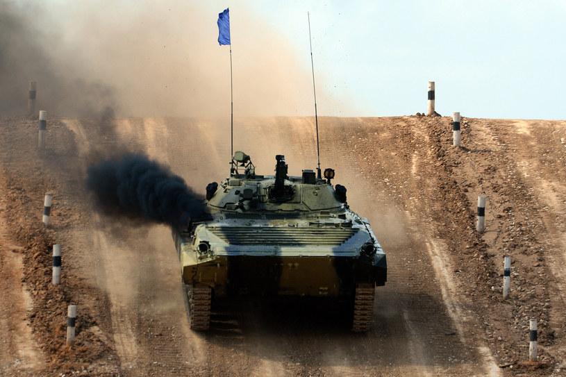Rosyjski transporter opancerzony /AFP