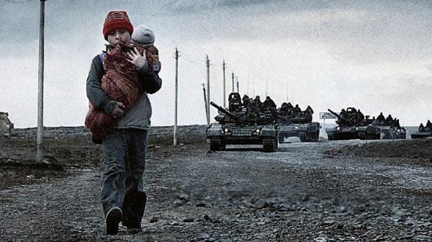 "Rosyjskie czołgi na canneńskim plakacie filmu ""The Search"". /materiały prasowe"