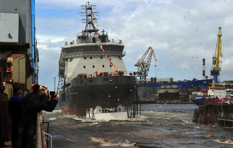 Rosyjskie lodołamacze mają stacjonować w Arktyce /AFP