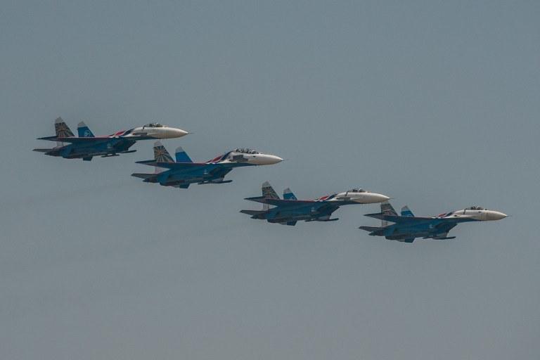 Rosyjskie myśliwce /AFP/AKPA