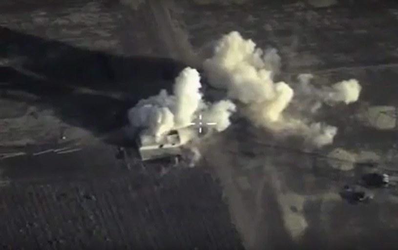 Rosyjskie naloty w Syrii zaczęły się 30 września /RUSSIAN DEFENCE MINISTRY PRESS SERVICE /PAP/EPA