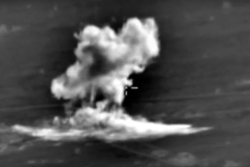 Rosyjskie naloty w Syrii /PAP/EPA