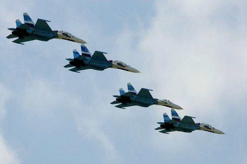 Rosyjskie odrzutowce zostały postawione w stan gotowości /AFP