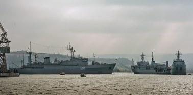 Rosyjskie okręty na Bałtyku. To odpowiedź na manewry NATO