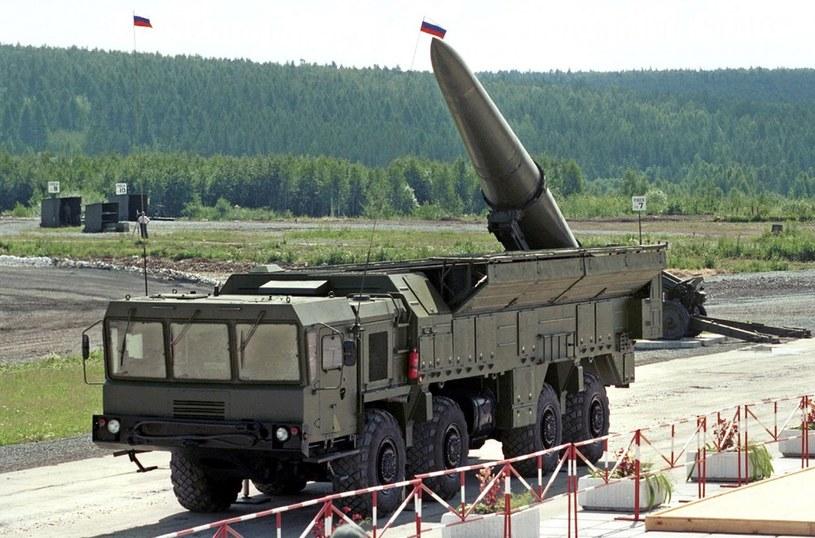 Rosyjskie rakiety Iskander /AFP /East News