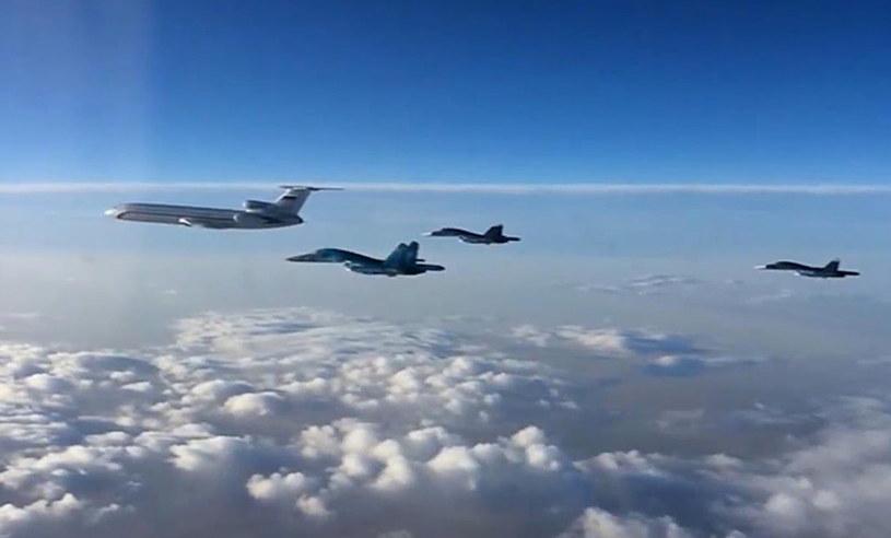 Rosyjskie samoloty wracają z Syrii /TASS /Agencja FORUM
