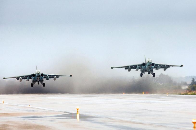 Rosyjskie samoloty wracające z Syrii /PAP/EPA