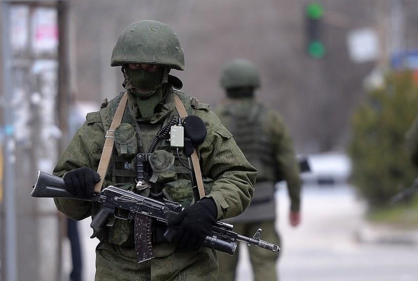 Rosyjskie siły na granicy z Ukrainą nadal groźne /AFP