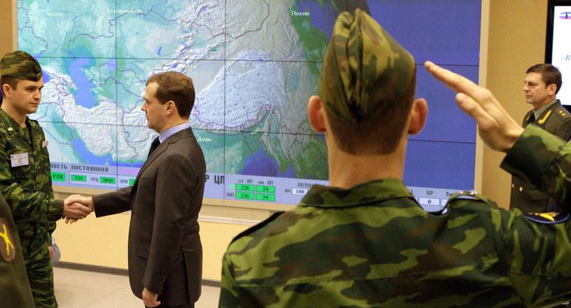 Rosyjskie Siły Obrony Aerokosmicznejprowadzą stały monitoring obiektów w przestrzeni kosmicznej. /AFP
