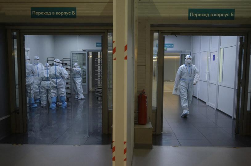 Rosyjskie służby medyczne; zdj. ilustracyjne /AFP