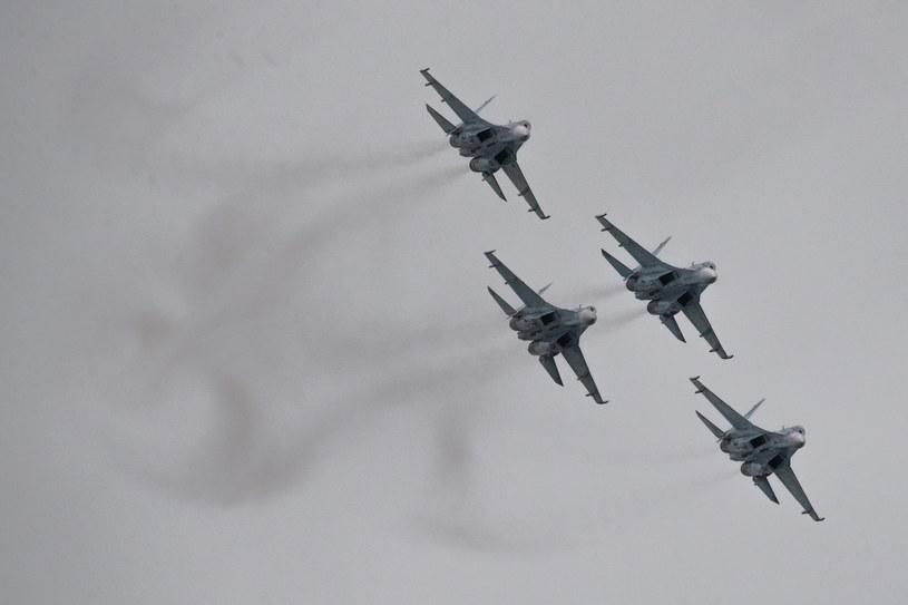 Rosyjskie Su-27 (zdj. ilustracyjne) /Denis Tyrin/TASS Host Photo Agency  /Agencja FORUM
