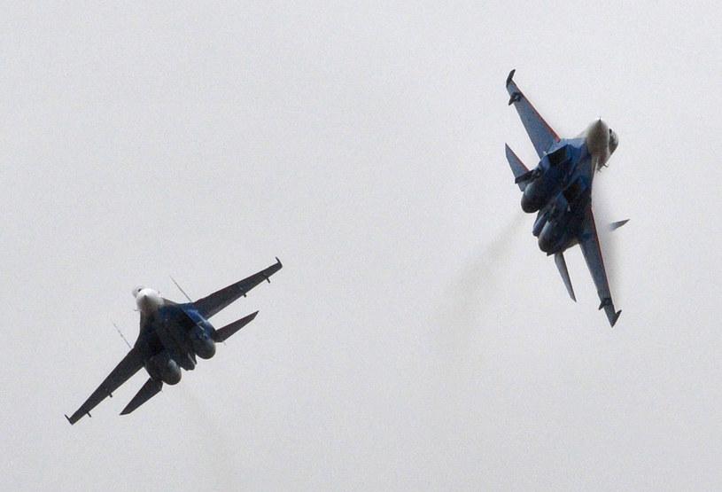 Rosyjskie Su-27 /VYACHESLAV OSELEDKO /AFP