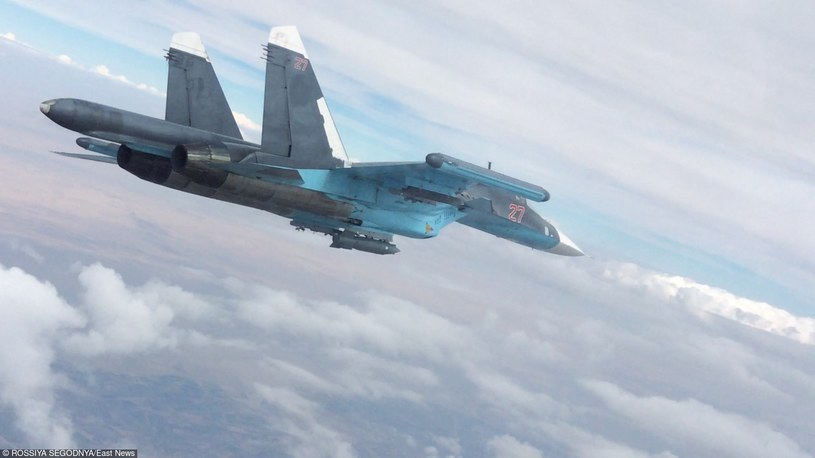 Rosyjskie Su-34 są wykorzystywane do nalotów w Syrii /RIA Novosti /East News