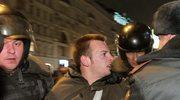 Rosyjskie władze brutalnie tłumią opozycyjne demonstracje
