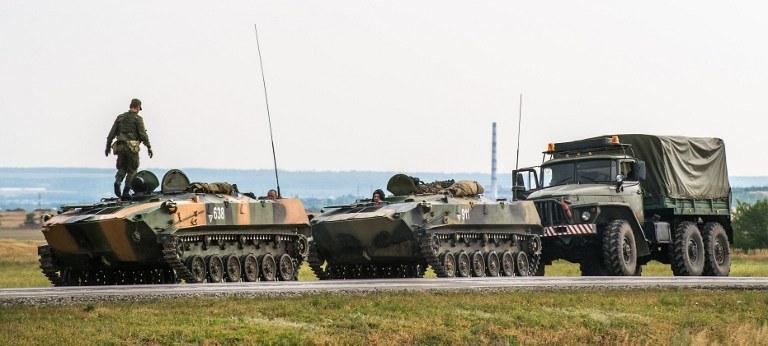Rosyjskie wojska /AFP